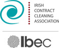 Member or Irish Contract Cleaning Association and IBEC